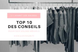 J-1  Avant les soldes :  top 10 conseils pour bien réussir ses achats